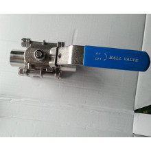 Soupape à bille en acier inoxydable en acier inoxydable 1000Wog 3PC en acier inoxydable