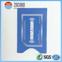 Papier imprimé en aluminium imprimé Support de carte de blocage RFID