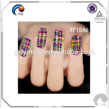 High quality Customized temporary nail stickers sheet