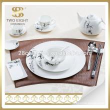 Unbreakable marbel ceramic dinnerware dinner set from Guangzhou