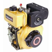 CE-Qualität Luftgekühlter Einzelzylinder 3.8 PS Dieselmotor (WD170)
