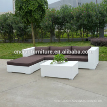 China Supplier New Design White Wicker Sofa Lounge Furniture
