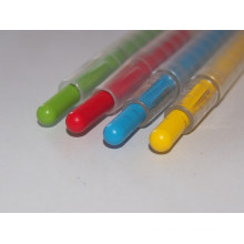 High Quality 12colors Twist-up Crayon for School Kids