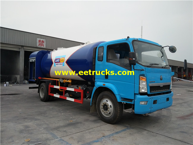 SINOTRUK LPG Gas Filling Trucks