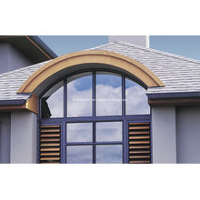 Custom Curved Fixed Top Aluminium Doors and Windows Prices