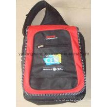 Bolsa de ordenador personalizada, mochila de hombro doble
