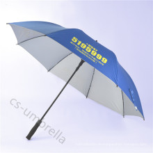 """Auto Open 29,5 """"Promotion Golf Gerade Regenschirm für Werbung (YSS0125)"""
