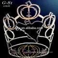 New rhinestone small cute pumpkin crown for halloween pageant