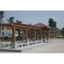 2014 Hot Sale WPC Pavilion