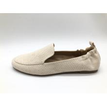 Chaussures à enfiler confortables à bout rond souple pour femmes