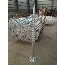 Helical Piers Ground Screw Pole Anchor