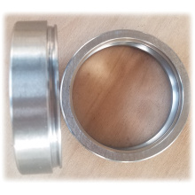 Deep groove ball bearing ring with snap groove