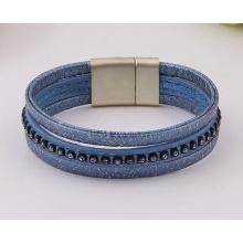 Алмазные ювелирные изделия любителей обмотки Многослойные браслет Бижутерия