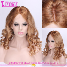 Высокое качество естественный цвет волос плетеные кружева перед парики для чернокожих женщин