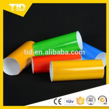 Reflective sheeting for advertisement and traffic safety
