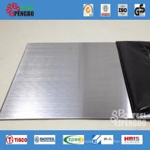 Placa de acero revestida de zinc sumergida en caliente regular Spangle