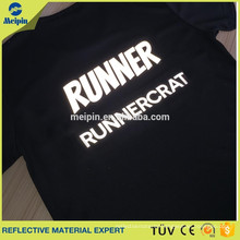 good quality tshirt for unisex reflective logo