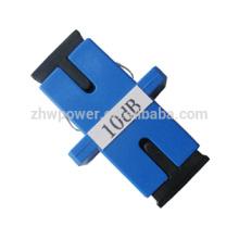 3dB 5dB adaptador 10dB 15dB sc / pc tipo atenuador de fibra óptica / atenuadores de fibra óptica
