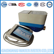Medidor de água pré-pago Impulse Card Card RF com válvula de motor (DN15-DN25)