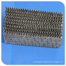 Metal Perforated Plate Corrugated Structured Tower Packing