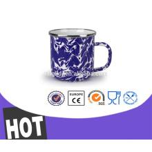 Drinkware del esmalte taza de café portable de la bola del dragón del agua 12oz de la fruta del diseño moderno