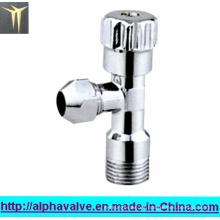 Válvula angular de latón (a 0202)