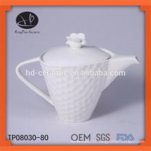 new product for 2015 ceramic teapot , white porcelain teapot