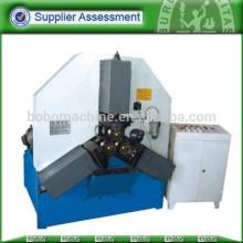 Hydraulic threading machine for steel pipe screw