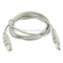 1.8M Grau USB 2.0 Stecker A bis B Drucker Kabelkabel für PC