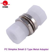 FC Simplex Small D Type Metal Fiber Optic Adapter