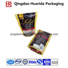 Plastic Bottom Gusset Packaging Bag for Pet Food