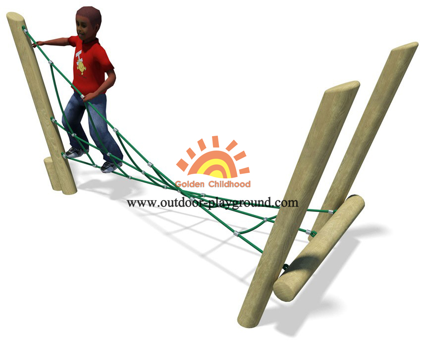 climbing net playground for kids