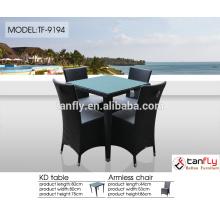 new design luxury dining seating garden patio resin wicker rattan outdoor furniture