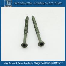 Torx Drive Csk Tête 3.9 * 51mm Vis de carton gris vert