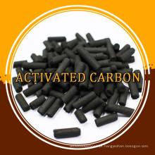 Carvão ativado em coluna de pequena quantidade para filtro de gás / ar