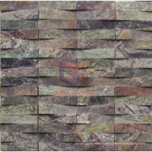 Green Marble Roughness Shape Mosaic Tile (CFS889)