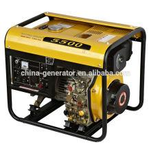 CE Certificado Máx. Gerador diesel 5kw WH5500DG