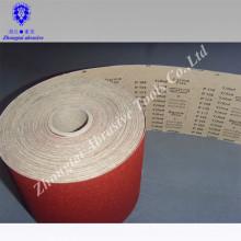 Rollo de papel de arena impermeable colorido de 115mm * 50m