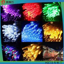 Luzes feericamente da corda da bateria do diodo emissor de luz de 4.5V 100PCS para partidos