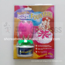 Musical Birthday Sparkling Candle