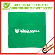 Green Colored Customized Logo Dog Bandana