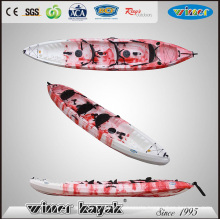 Large Size 3 People Plastic Sit on Top Boat Touring Kayak