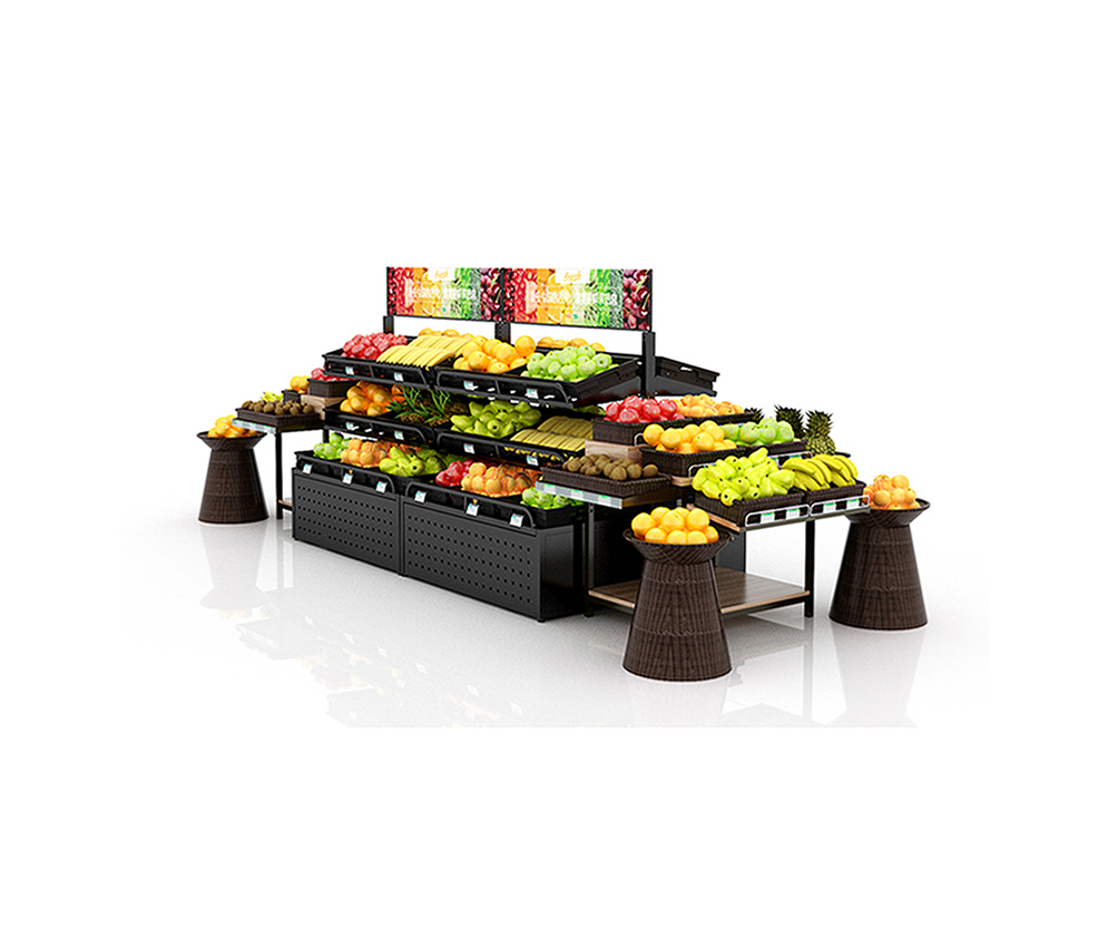 Double Sided Fruit Rack