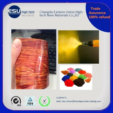 Manufacturer Wood Grain Effect Polyester Powder Coating