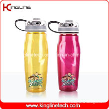 750ml BPA Free Plastic Sports Drink Bottle (KL-B2024)