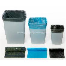 Bolsas de basura de cocina Revestimientos de basura transparentes
