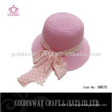 Senhoras de moda personalizadas sentiram chapéus