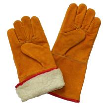 Boa guantes resistentes a la soldadura de invierno
