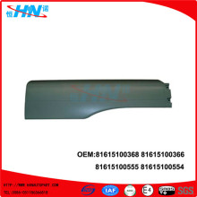 Extension Mudguard 81615100368 81615100555 Truck Parts