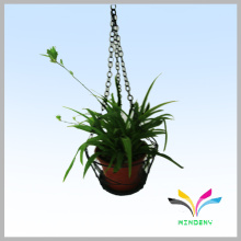 Metal planta al aire libre flor pantalla para colgar la olla de flor